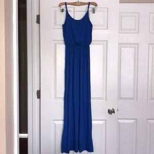 Lush Cobalt Maxi Dress XS